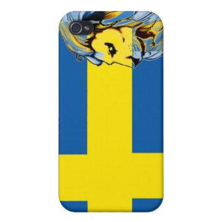 swedish-flag iPhone 4 case