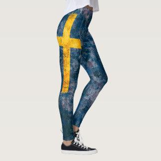 Swedish Flag Leggings