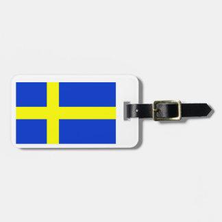Swedish Flag Luggage Tag