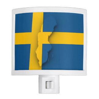 Swedish Flag Night Light