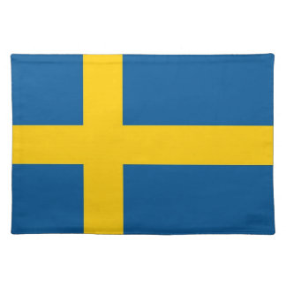 Swedish Flag on MoJo Placemat
