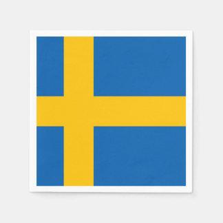 Swedish Flag Paper Napkin