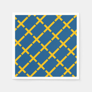 Swedish Flag Paper Napkin