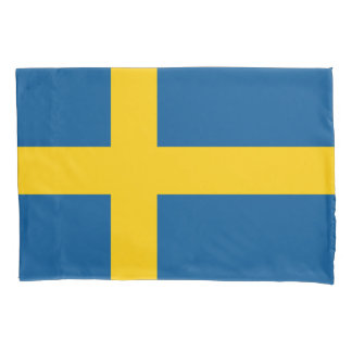 Swedish flag pillowcase sleeve for Sweden pride