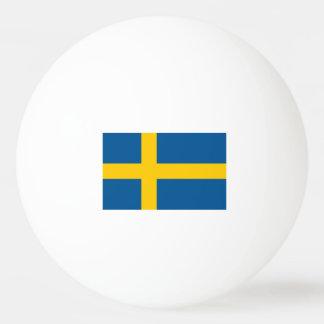 Swedish flag ping pong balls for table tennis