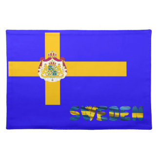 Swedish flag placemat
