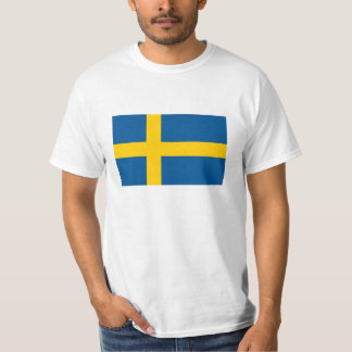 Swedish flag t shirts for Sweden