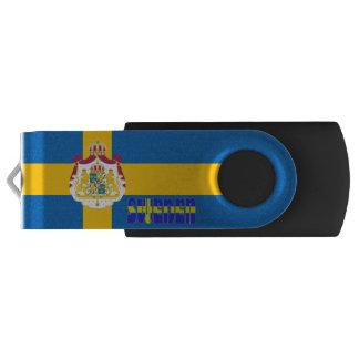 Swedish flag USB flash drive