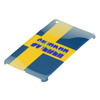 Swedish glossy flag cover for the iPad mini