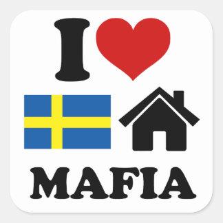 Swedish House Music Square Sticker