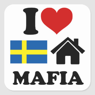 Swedish House Music Square Sticker