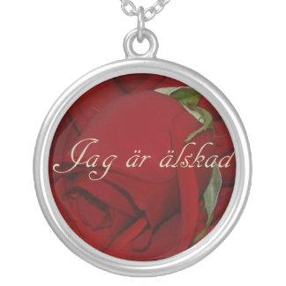 Swedish I Am Loved Necklace