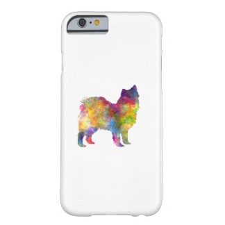 Swedish Lapphund in watercolor Barely There iPhone 6 Case