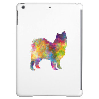Swedish Lapphund in watercolor Cover For iPad Air