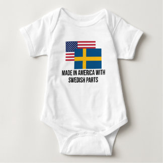 Swedish Parts Baby Bodysuit