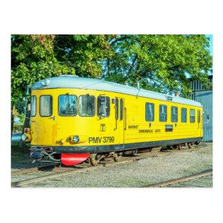 Swedish railbus PMV 3799 Postcard
