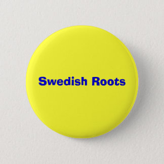 Swedish Roots 2 Inch Round Button