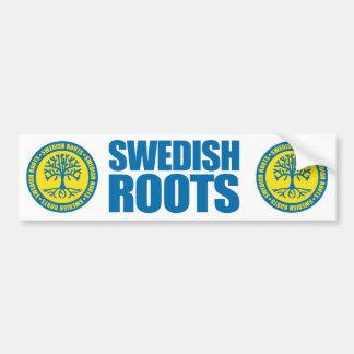 Swedish Roots Bumper Sticker