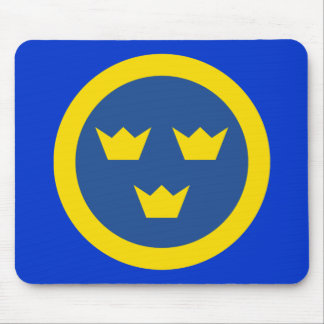 Swedish Roundel Mousepad