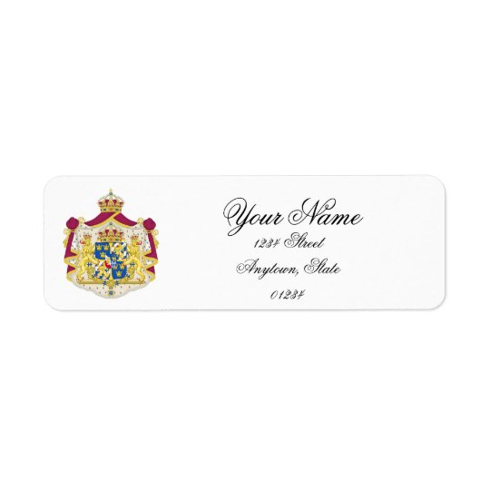 Swedish Royalty Personalize