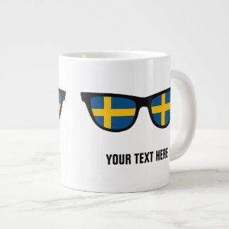 Swedish Shades custom mugs Jumbo Mug