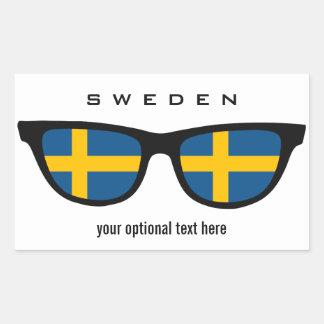 Swedish Shades custom stickers