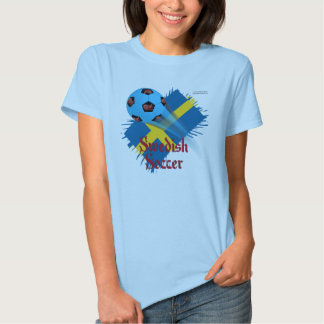 Swedish Soccer Bonanza Ladies Babydoll T-Shirt