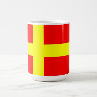 Swedish speaking Finns ethnic flag scandinavia Coffee Mug