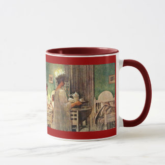 Swedish St.Lucia Holiday by Carl Larsson Mug