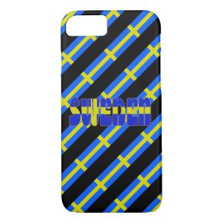 Swedish stripes flag iPhone 8/7 case