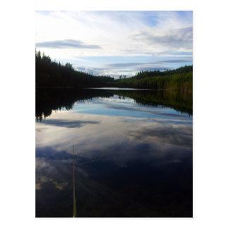 Swedish stunning lake postcard