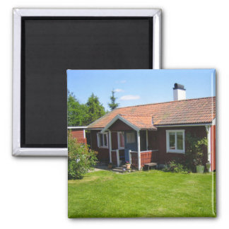 Swedish Summer House Magnet