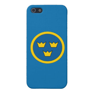 Swedish Three Crowns Flygvapnet Coat of Arms iPhone 5 Covers