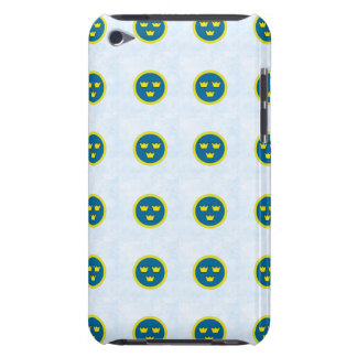 Swedish Three Crowns Tile Pattern Barely There iPod Cases