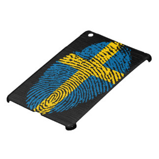 Swedish touch fingerprint flag iPad mini covers