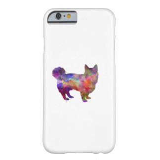 Swedish Vallhund in watercolor Barely There iPhone 6 Case