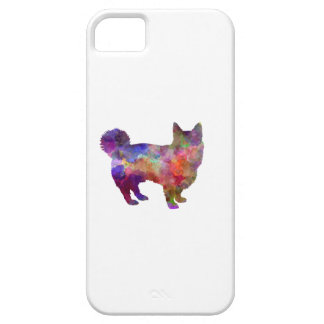 Swedish Vallhund in watercolor iPhone 5 Cases
