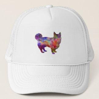 Swedish Vallhund in watercolor Trucker Hat