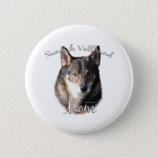 Swedish Vallhund Mom 2 2 Inch Round Button
