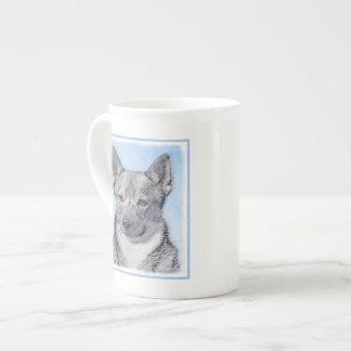 Swedish Vallhund Painting - Cute Original Dog Art Tea Cup