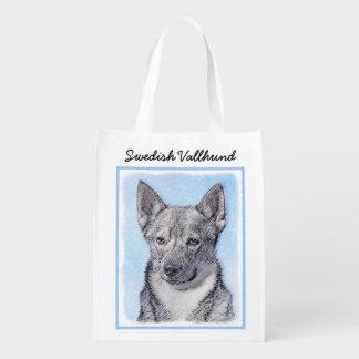 Swedish Vallhund Reusable Grocery Bag