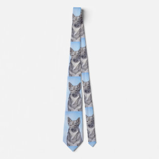 Swedish Vallhund Tie