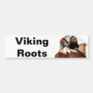 Swedish Viking Roots Bumper Sticker