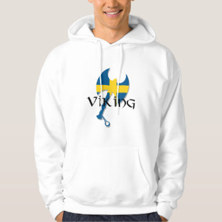 Swedish Viking Sweden Axe Hoodies