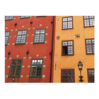 Swedish Windows Postcard
