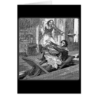 Sweeney Todd-Barbers Chair-Penny Dreadful Card