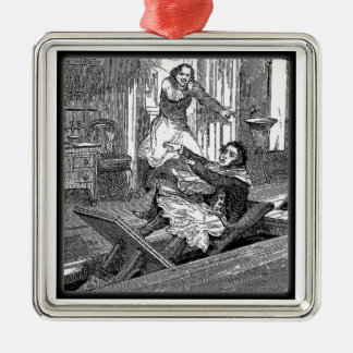 Sweeney Todd-Barbers Chair-Penny Dreadful Metal Ornament