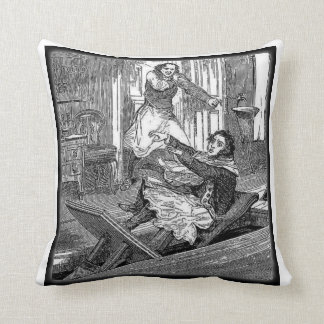Sweeney Todd Barbers Chair-Penny Dreadful Pillow T
