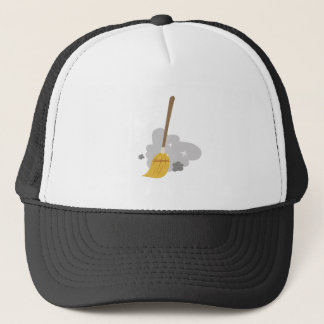 Sweep Broom Trucker Hat