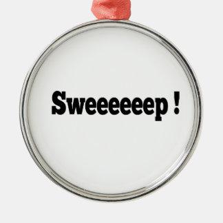 Sweep! Curling Ornament